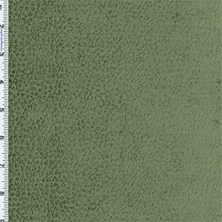 Moss Olive Green Reptile Faux Velvet Decorating Fabric, Fabric by The Yard