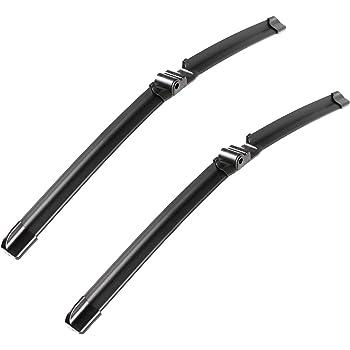 X AUTOHAUX Rear Windshield Wiper Blade Arm Set for Porsche Cayenne 2003-2010 500mm 20inch