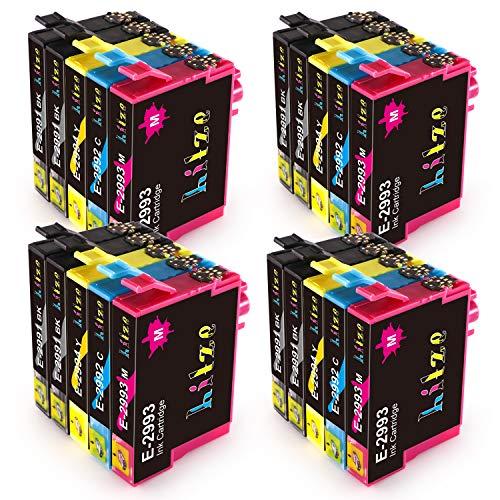 Hitze Epson 29 29XL Cartucce d'inchiostro Sostituzione per 29 XL Compatibili con Epson XP-245 XP-255 XP-342 XP-442 XP-257 XP-352 XP-452 XP-432 XP-345 XP-247 XP-235 XP-455 XP-335 XP-445 XP-332