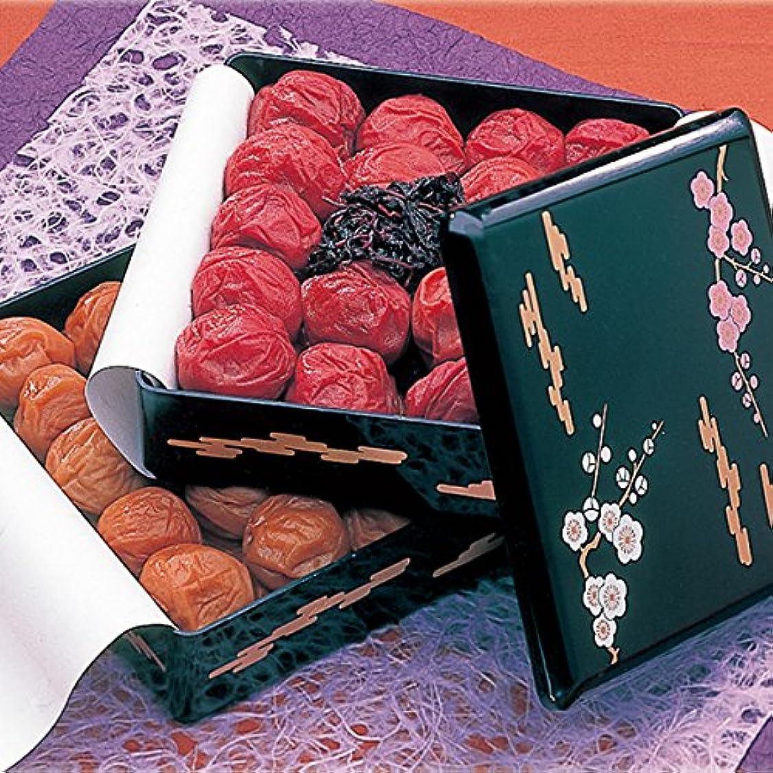 大脳ライフル熱望する重箱二段(500g×2段) 梅の味の種類はメール等でご連絡お願いします。