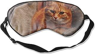 Good Night Sleep Mask - Cute Tiger Sweet Cuddly Animal Eye Cover, Best Gift for Women & Men, Ultimate Sleep for Travel & Night Sleep