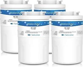 Waterdrop MWF Cartucho de Filtro de Agua para Nevera/frigorífico - General Electric GE SmartWater MWF MWFA MWFP GWF GWFA GWF01; Hotpoint HWF HWFA MWF MWFA; Sears/Kenmore 46-9991; 53-WF-07GE WF07 (4)