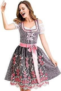 レディースハロウィンコスプレドレスドイツオクトーバーフェストメイド 女性ハロウィンコスプレヴィンテージドレスドイツメイドドレスキャラクターコスチューム活動会ハロウィンコスチュームロリータ貴族スタイルパーティードレス