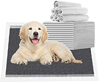 Nihao Honey Heavy Absorb Activated Charcoal Puppy Pads Carbon Dog Pee Pad Black 25 Pack (18x24 Carbon)