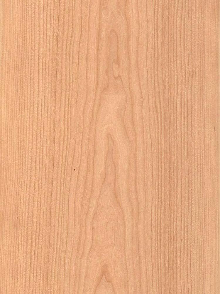 1 Pc of Washington Mall Cherry Wood Veneer Alternative dealer Backing Plain Backer Sliced 2' Paper