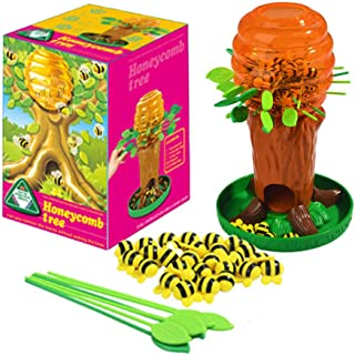 Honey Bee Tree Game Zone Toy, Fun Parent-Child Interactive Games for 2 to 4 Players, Ages 3 and Up