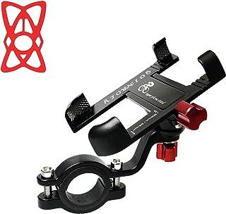 Goinroly Aluminum Bicycle & Motorcycle Phone Mount,Bike & Motorcycle Phone Holder Anti Shake with...