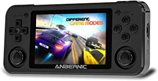 MJKJ RG351P Handheld Game Console , Built-in 64G TF Card 2500 Classic Games Support PSP / PS1 / N64 / NDS Opening Linux To...