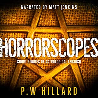 Horrorscopes audiobook cover art
