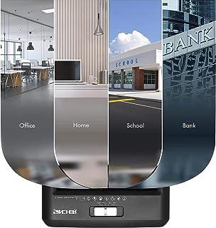 Sincher Wireless Bluetooth Audio Speaker, Digital Dual Alarm Clock, Temperature Detection, 12/24 Hours, Ringtone Broadcas...