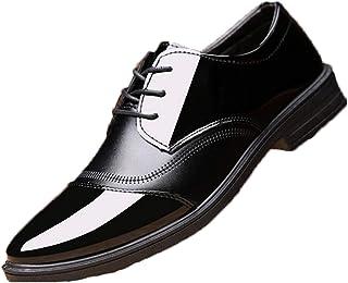 Zapatos Formales para Hombre, Zapatos Derby clásicos para Novio, para Fiesta de Boda, Zapatos de Negocios Resistentes al D...