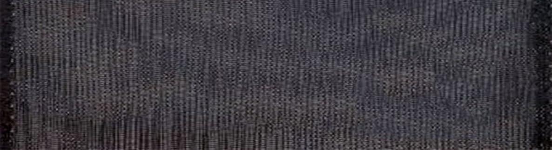 Morex Ribbon Wired 2-1/2-Inch Chiffon Ribbon with 20-Yard Spool, Black