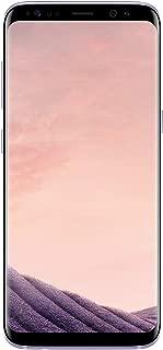 Samsung Galaxy S8 Orchid Gray 64GB Verizon and GSM Factory Unlocked 4G LTE (Renewed)