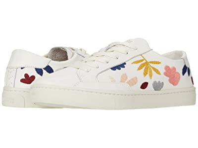 Soludos Fallen Leaves Sneaker (White) Women
