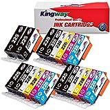 Kingway Compatible Ink Cartridge Replacement PGI-225 CLI-226 PIXMA MG6120 MG8120 MG6220 MG8220 MG8120B IX6520 MG5320 MG5220 MX882 MX892 IP4920 MG5120 MG5210 MG6200 Printer 20 Pack(3 Sets + 2 PGBK)