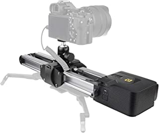 Zeapon Motorized Micro 2 Slider, Travel Distance 54cm/21in, 4.5KG All-Direction Carrying Capacity, 39 Decibels Motor, 3 Ad...
