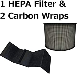 EFP HEPA Plus Filter with 2 Carbon Wraps for Filter Queen Defender 4000 7500 360