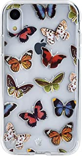 Velvet Caviar for Cute iPhone XR Case Butterfly Clear for Girls & Women - Protective Phone Cases [Drop Test Certified] (Butterflies)