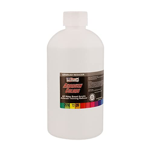 Homemade acrylic paint thinner for airbrush