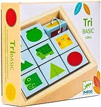 DJECO TriBasic Wooden Puzzle