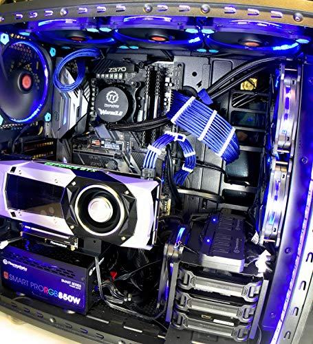 Workstation PC Intel Core i7 8700k 16Gb DDR4 3200 NVMe M.2 SSD HDD GTX 1070 Ti 3 Year Warranty!