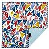 プレーリードッグ 今治うまれガーゼパイルハンカチ トライアングル ミッキー × 5 セット DSN-TIO-0718