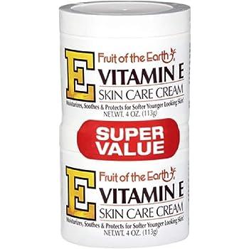 Fruit Of The Earth Fruit Of The Earth Vitamin E Skin Care Cream, 4 oz, Pack of 2
