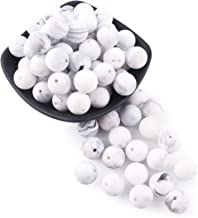 marble silicone beads