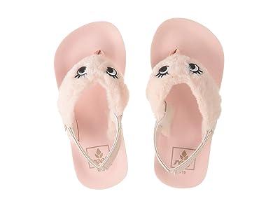 Reef Kids Little Ahi Sleepover (Infant/Toddler/Little Kid) (Pink Cloud) Girls Shoes