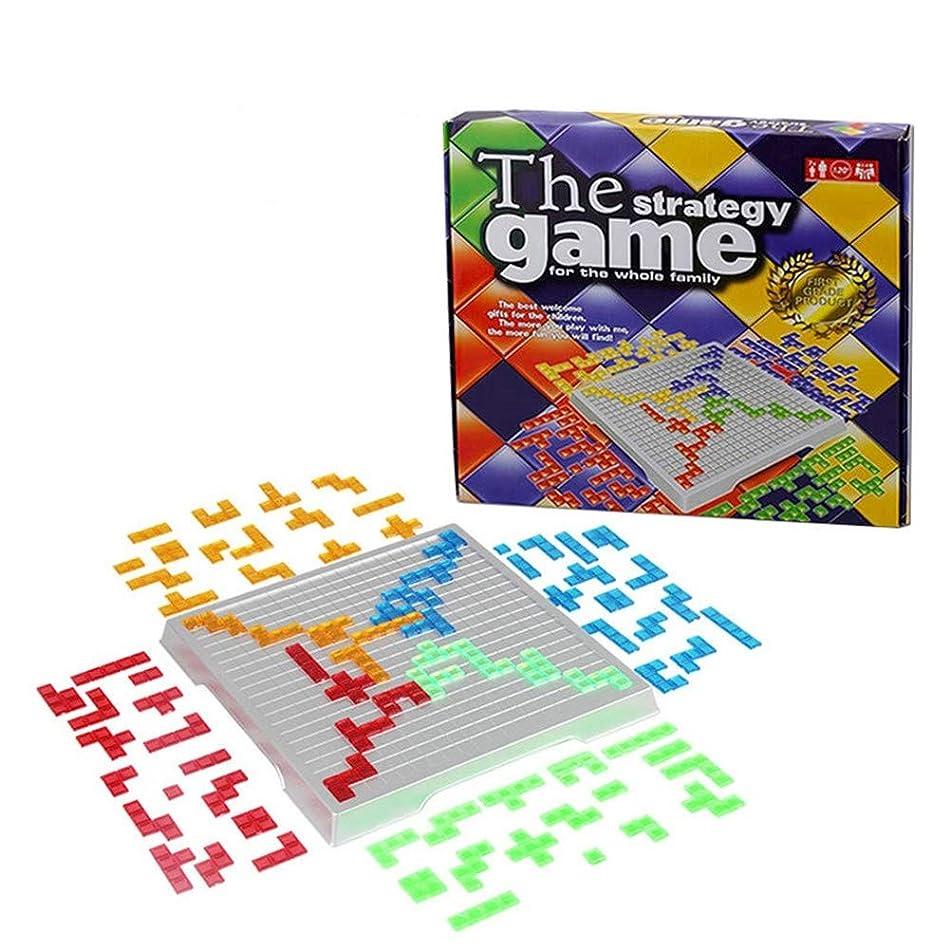 振幅コテージ好意的OKSANO ブロックス2-4人版 ボードゲーム 卓上ゲーム  家庭オモチャ 旅行 大人 子供 知育玩具