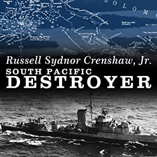 South Pacific Destroyer audiobook cover art
