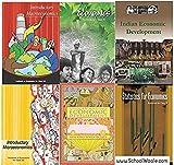 NCERT Economics Books Set Class 9 To 12 (English Medium - Binded Books)
