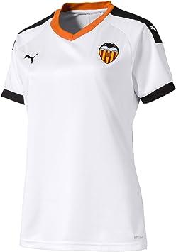 cerveza negra Molestia Eficiente  PUMA Valencia CF Primera Equipación 2019-2020 Mujer, Camiseta, White  Black-Vibrant Orange: Amazon.es: Deportes y aire libre