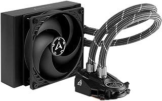 ARCTIC Liquid Freezer II 120 - Refrigerador de agua AIO de CPU Multi-Compatible, con Intel y AMD, bomba controlada por PWM, Velocidad del Ventilador: 200-1800 RPM (controlada víaPWM) - Negro