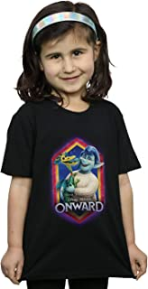 Disney Girls Onward Laurel And Blazey Crest T-Shirt