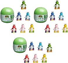 Toynk Super Mario Yoshi Mystery Mini Wind-Up Figure Lot of 3