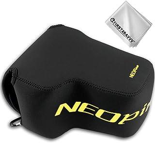 First2savvv Negro Funda Cámara Reflex Neopreno Protectora para Nikon COOLPIX P1000 QSL-P1000-01G11