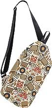 Carla Lalli Music Image Multipurpose Crossbody Shoulder Bag,Travel Hiking Daypack,Fashion Sling Bag,Water Resistant Anti Theft Shoulder Backpack.