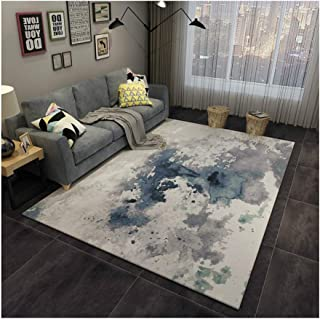 NXDT Long Runner Rugs Area Rugs Rug Modern Simple Abstract Ink Art Area Rugs High Density Door Mats Carpet Anti-Slip Washable for Living Room Bedroom (Color : B, Size : 160X230CM)
