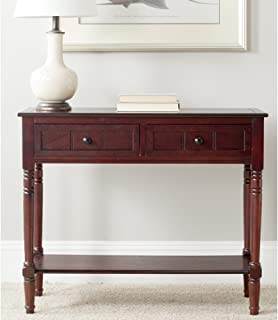 Safavieh American Homes Collection Samantha Dark Cherry 2-Drawer Console Table