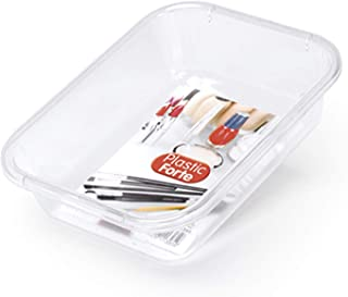 صناديق ومنظمات مستحضرات التجميل من البلاستيك فورتي، بلاستيك، شفاف
