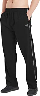MoFiz Men's Sweat Pants Pure Cotton Jogging Tracksuit Bottoms Casual Sports Trousers