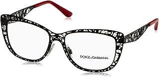 e199c72b4c23 Dolce   Gabbana Women s DG1287 Eyeglasses Black 52mm
