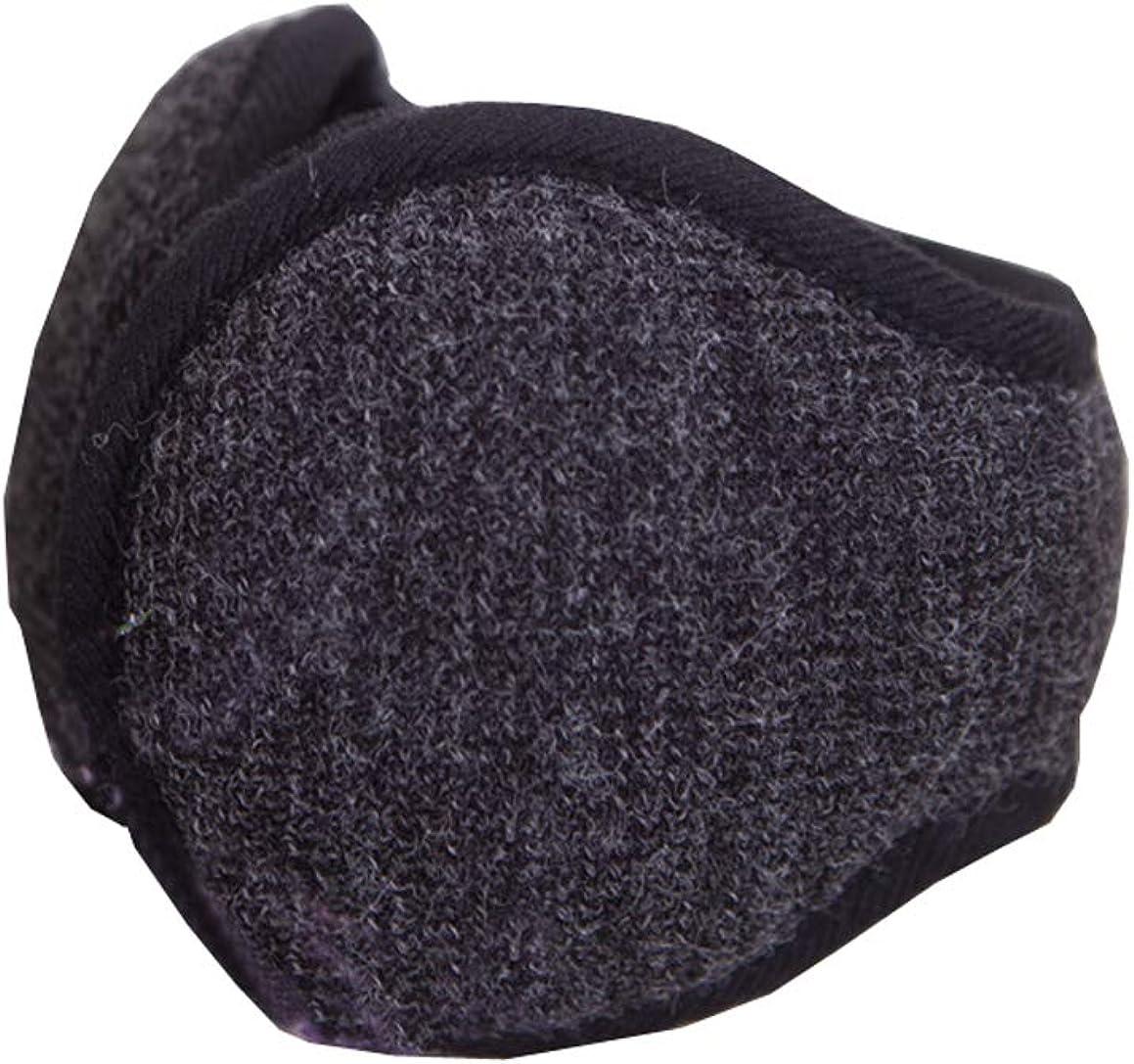 Only Faith Unisex Winter Warm Folding Portable Plush Earmuffs Ear Cover