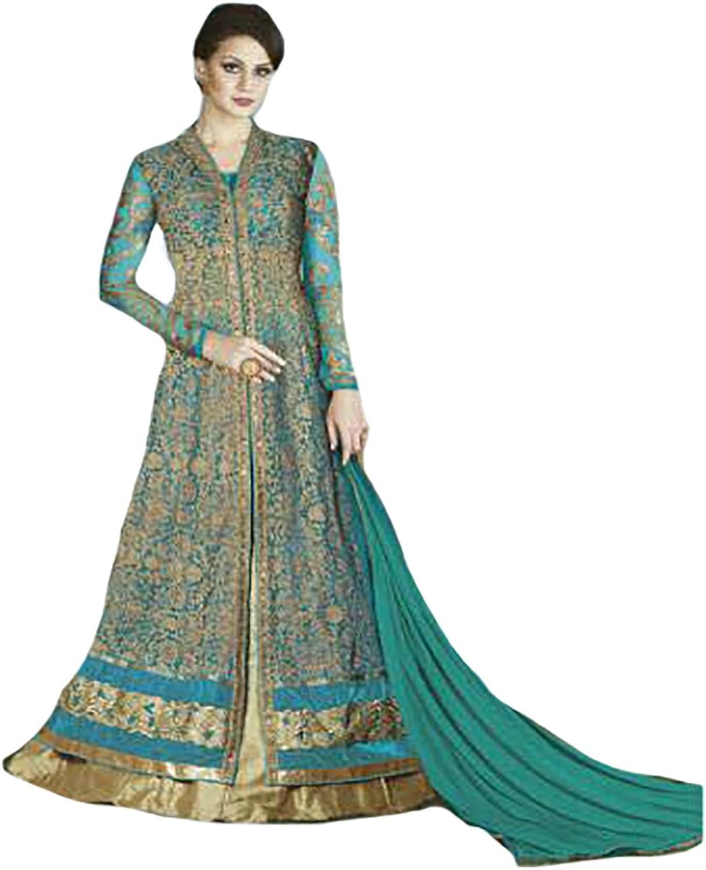 Bollywood Collection Anarkali Salwar Kameez Ceremony Women Wedding Bridal 8766