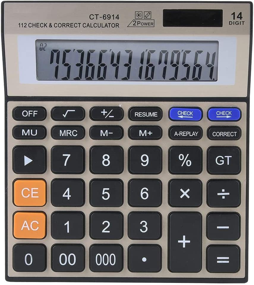 Jadeshay Financial Calculator - Free Shipping New B 14-Digit Complete Free Shipping Power Dual