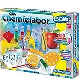 Galileo, Das Chemielabor, viel Zubehörteile, ab 8 Jahren - Galileo Das Chemie Labor Physik Lern Experimentier Set Kasten Kinder