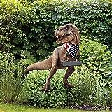 Garten Metall Flugzeug Dinosaurier Statue Dekoration Gartenkunst Flach Gartendrachen Figuren Deko Drache Gartenfigur Ornamente Essen Zwerge Gartenstatuen, Gartenzwerg Statue