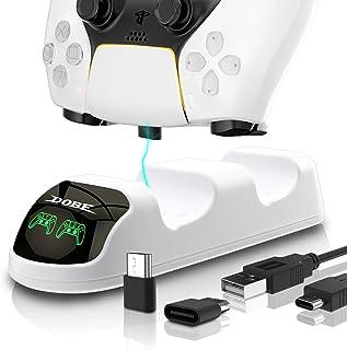 Carregador de controle PS5, estação de carregador de controle PS5, base de carregamento para controle PlayStation 5
