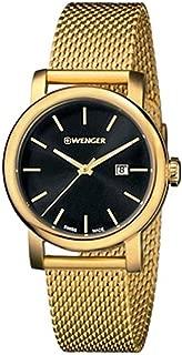 Wenger Urban Vintage Quartz Movement Black Dial Ladies Watch 01.1021.120